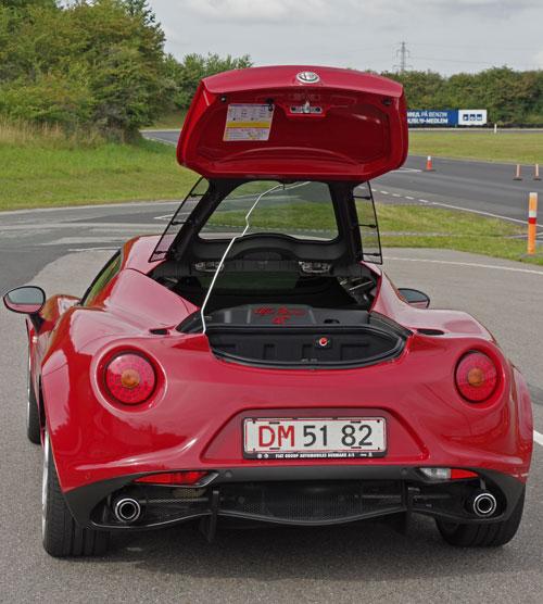 Biltest: Alfa Romeo 4C