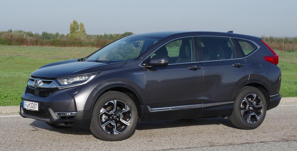 first world test drive honda cr v hybrid biltest. Black Bedroom Furniture Sets. Home Design Ideas